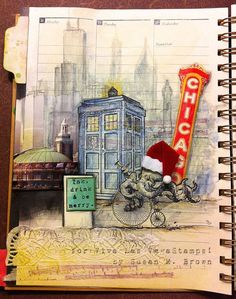 Journal page by Susan Brown