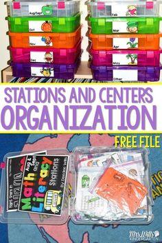 Center Materials Org