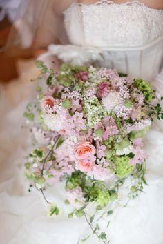 新郎新婦様からのメール 雨上がりの豆電球 TYハーバーブルワリー様へ : 一会 ウエディングの花