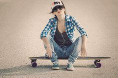 Skater Girl on Behance