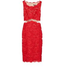 Rental Reem Acra Red Keira Sheath ($395) ❤ liked on Polyvore featuring dresses, red, red sleeveless dress, mesh dress, sleeveless dress, sleeveless sheath dress and red mesh dress