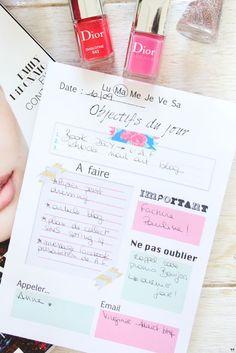 Une touche de rose: blog mode, DIY, cuisine, beauté: To Do list :: Lifestyle