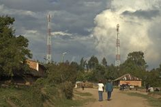 More clouds.  I had better 3G coverage from these towers in very remote village of Tanzania than I do in many parts of the US.