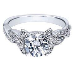 "Ben Garelick Royal Celebration ""Juliet"" Diamond Twist Engagement Ring · ER10434W44JJ · Ben Garelick Jewelers"