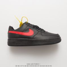 9e15ac2c547a3 Fsr Nike Air Force 1 Af1 Bred Hook Low Leisure Sneakers Unisex
