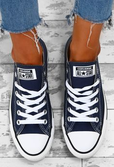 Chuck Taylor Converse All Star Navy Trainers