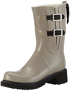 Ilse Jacobsen Long Buckle Rub 59 Motorcycle Boot  Womens Atmosphere 38 ** Click image for more details.