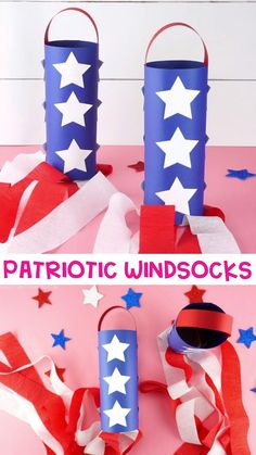 Fun Fourth of July Windsocks for Kids