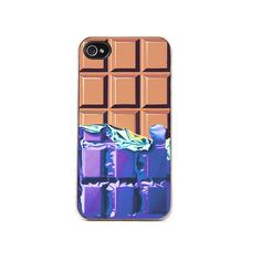 Zero Gravity The Augustusb Chocolate Iphone 4 Case ($12) ❤ liked on Polyvore featuring accessories, tech accessories, multi, phone cases, iphone case, phone, apple iphone cases, iphone cover case, print iphone case and clear iphone cases