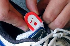 Put an iPod Nike+ sensor in any running shoe in one minute for 5 cents by fungus amungus