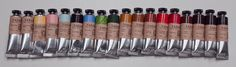 David Jon Kassan's paint and palette order