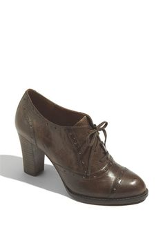 Halogen Paige Oxford  A sassy oxford takes its cue from the office with a business-like broguing atop a slender stacked heel..........  Nordstrom.com