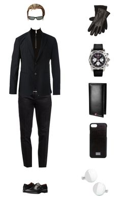 """Albert Wesker Inspired Autum Outfit"" by evilblackcat13 on Polyvore featuring Persol, Givenchy, Kenneth Cole, Burberry, Armani Collezioni, Emporio Armani, Ralph Lauren, Breitling, Dolce&Gabbana et men's fashion"