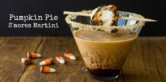 Pumpkin Pie S'mores Martini: For A Fuzzy Holiday With Your Family