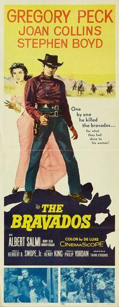 the bravados 1958   THE BRAVADOS (1958) - Gregory Peck - Joan Collins - Stephen Boyd ...