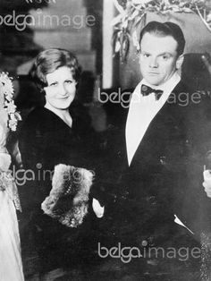James Cagney, wife Billie