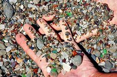 The elements did their job, transforming the glass shards into shiny, colorful jewels that you could spend hours collecting. The state bought this beautiful piece of the world in 2003, and now the Glass Beach is a part of MacKerricher State Park.