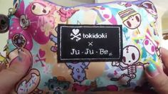 Packing video for the Ju Ju Be Tokidoki Super Be Ju Ju, About Me Blog, Packing, Chicken, Mom, Life, Bag Packaging, Mothers, Buffalo Chicken