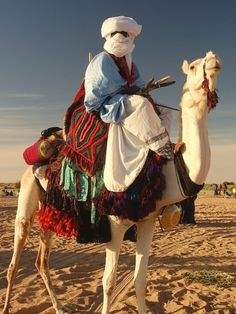 The Festival of Camels . Terist, Mali