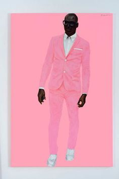 Barkley Hendricks, Photo Bloke, 2016. COURTESY THE ARTIST AND JACK SHAINMAN GALLERY