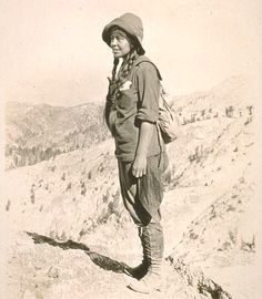 Marion Randall Parsons was a writer, artist, photographer, mountaineer, nature enthusiast, and active leader. She played a key role in many of the Sierra Club's conservation activities, including the establishment of the National Park Service in 1916.