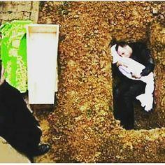 Pelukan Terakhir Sang Ayah Untuk Anaknya... .  #Suriah