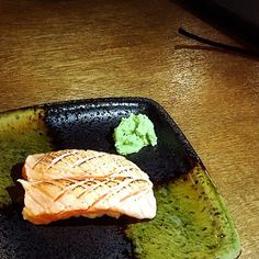 Ordered a few pieces of salmon aburi sushi (S$2.50 per price  $0.50 for torching). Not fantastic as they only torched the top without adding any sauce or garnishes. Prefer their raw salmon sushi as opposed to their torched version. by ashley_ong88
