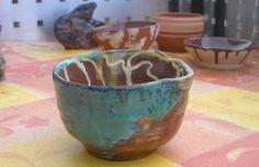 Tiere und Kunst von Herbivore11 - Teeschale Chawan - Sonnenpfad