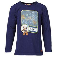 LEGO Wear Star Wars - Camiseta de manga larga para niño, color blau (midnight blue 588), talla 7 años (122 cm) #camiseta #realidadaumentada #ideas #regalo
