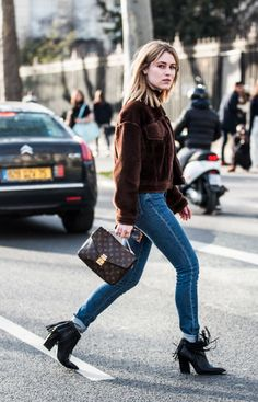 #streetstyle #LV #jeans