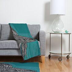 DENY Designs Valentina Ramos Beta Fish Fleece Throw Blanket 30 x 40