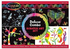 Melissa & Doug Deluxe Combo Scratch Art Set - http://www.tradedivine.com/melissa-doug-deluxe-combo-scratch-art-set/