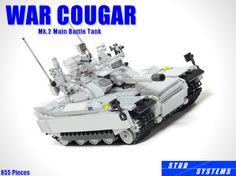 LEGO War Cougar Mk.2 Main Battle Tank 1