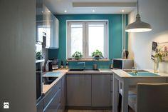 Mieszkanie w bloku - Kuchnia, styl skandynawski - zdjęcie od Patyna Projekt