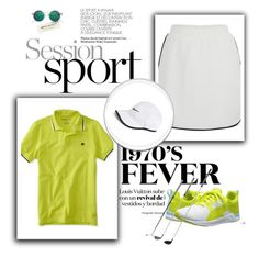 golf wear by mayang-muchtar on Polyvore featuring VILA, Puma, NIKE, H&M and Aéropostale