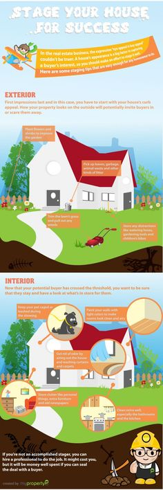 #INFOGRAPHIC: HOW TO STAGE YOUR HOME FOR SUCCESSFUL SALE