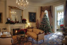 Christmas at the Marine Corps commandant's house.
