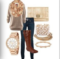 probably one of my favorites...cute cute fall/winter fashion idea!!! love the boots!