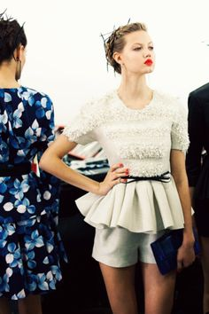 obsessing over this look. <3 Jason Wu.