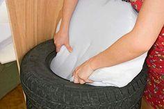 Como fazer poltrona com reciclagem de pneus                              …                                                                                                                                                                                 Mais