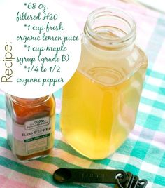 Recipe for Master Cleanse :: Blooming on Bainbridge