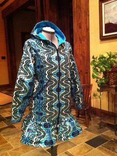 Alaska Gypsy Rainpuk Adult Raincoat Amy Butler Lark by rainpuk, $160.00