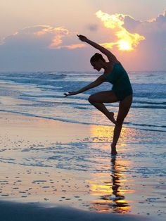 Dancing on the beach ~ There is so much magnificence, near the ocean.. waves are coming in, waves are coming in. -Miten
