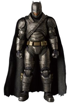 MAFEX Wonder Woman and Armored Batman