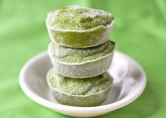Muffin tin mania: green smoothie cups