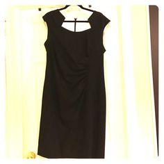 Black Calvin Klein dress Black Calvin Klein dress worn only twice! In perfect condition.  Worn to formal events. Calvin Klein Dresses Wedding