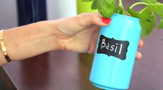 Cute DIY Coke Can Containers