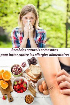 8 Remèdes naturels et mesures pour lutter contre les allergies alimentaires