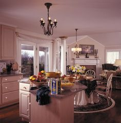 Formal Victorian style kitchen in Plan 016D-0045 | House Plans and More