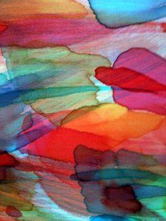 Carmita Lion - seda pura pintada a mão - silk hand painted